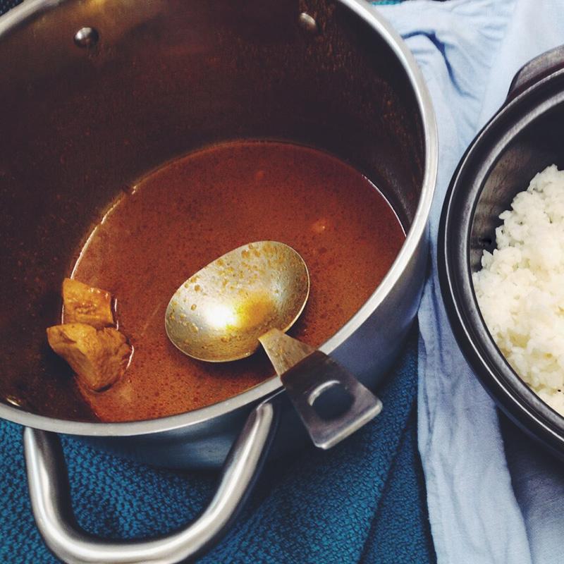 インドのお土産カレー